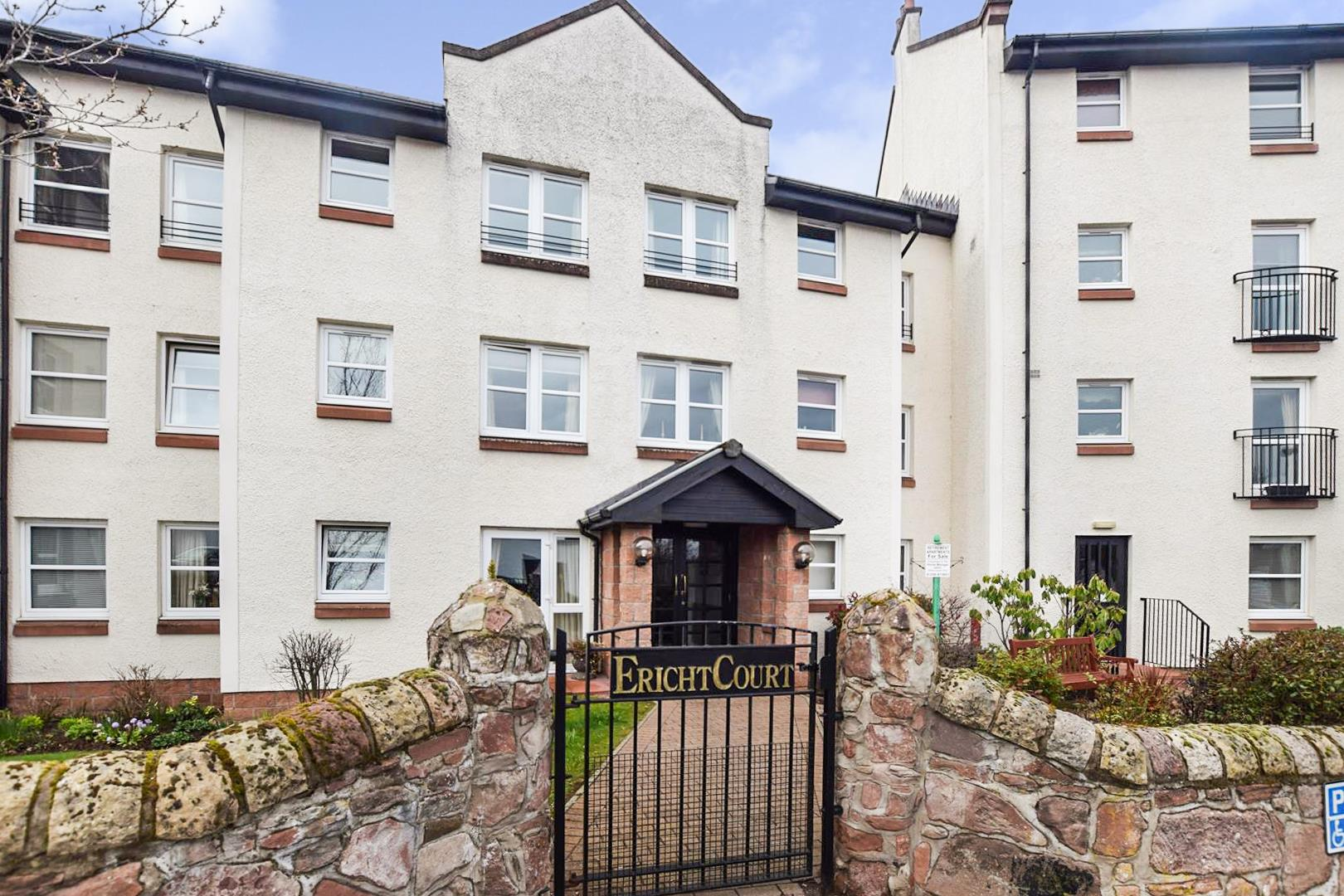 Flat 11, Ericht Court, Upper Mill Street, Blairgowrie, Perthshire, PH10 6AE, UK